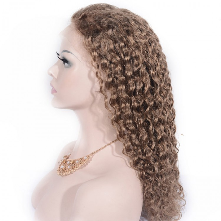 Jerry curly lace front wigs