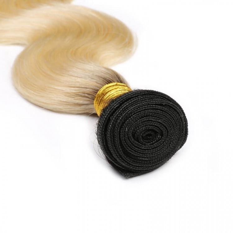 ombre Body Wave virgin hair T1B 613