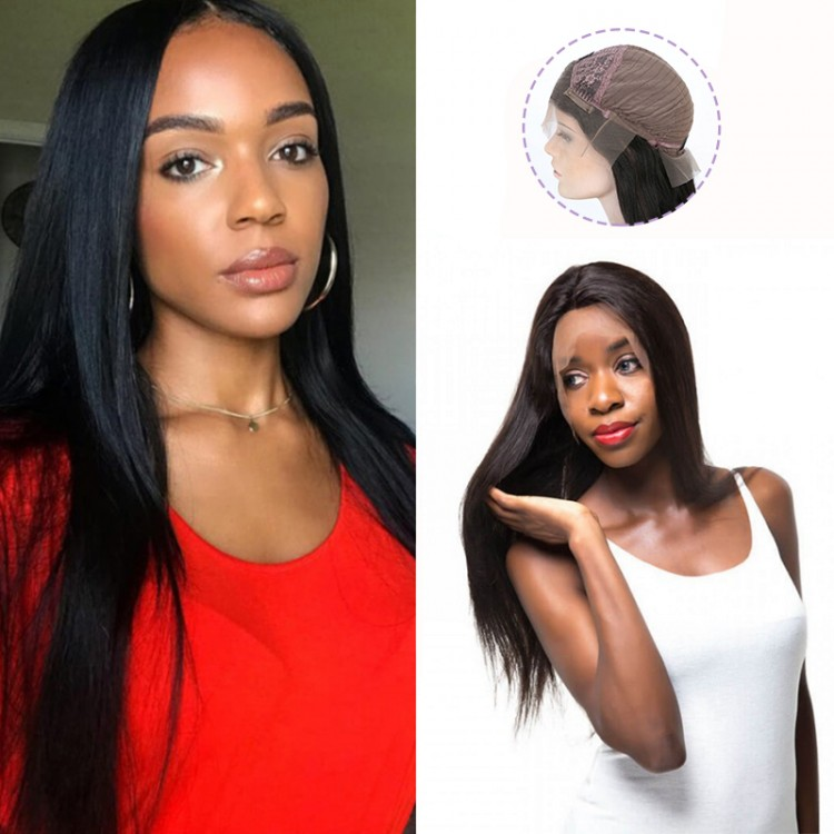 Straight Lace Front Wig Remy Human Hair