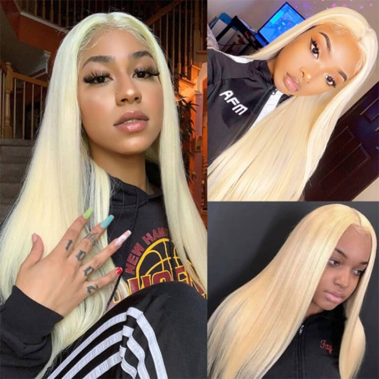 quality straight t part wig