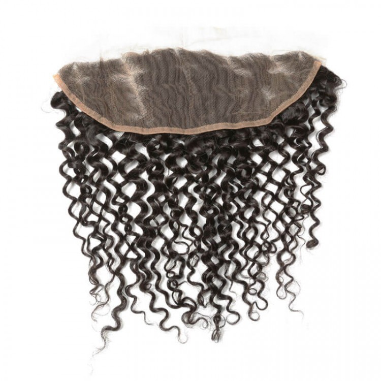 hair bundle with frontal