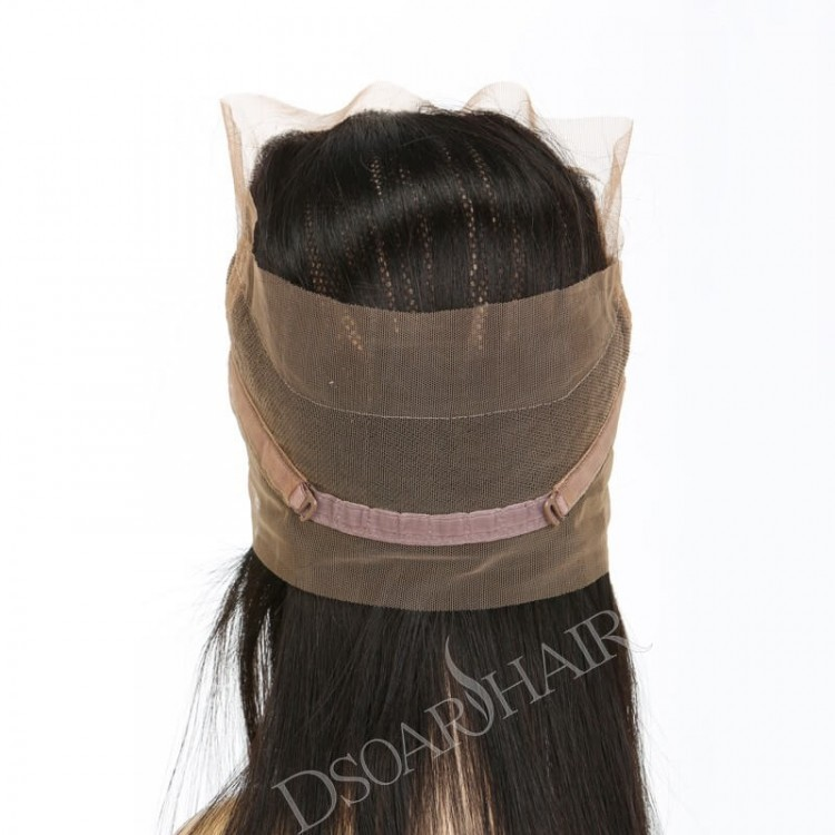 Virgin Human Hair With Lace Frontal