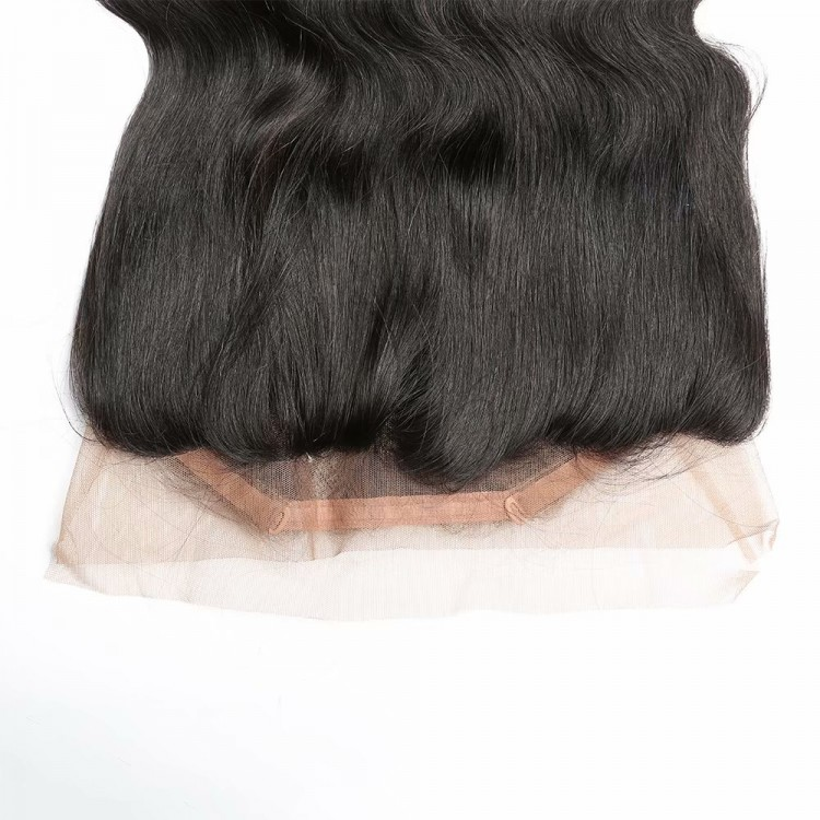 360 frontal closure with bundles