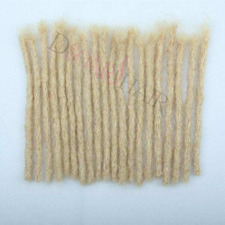 613 human hair dreadlock extensions