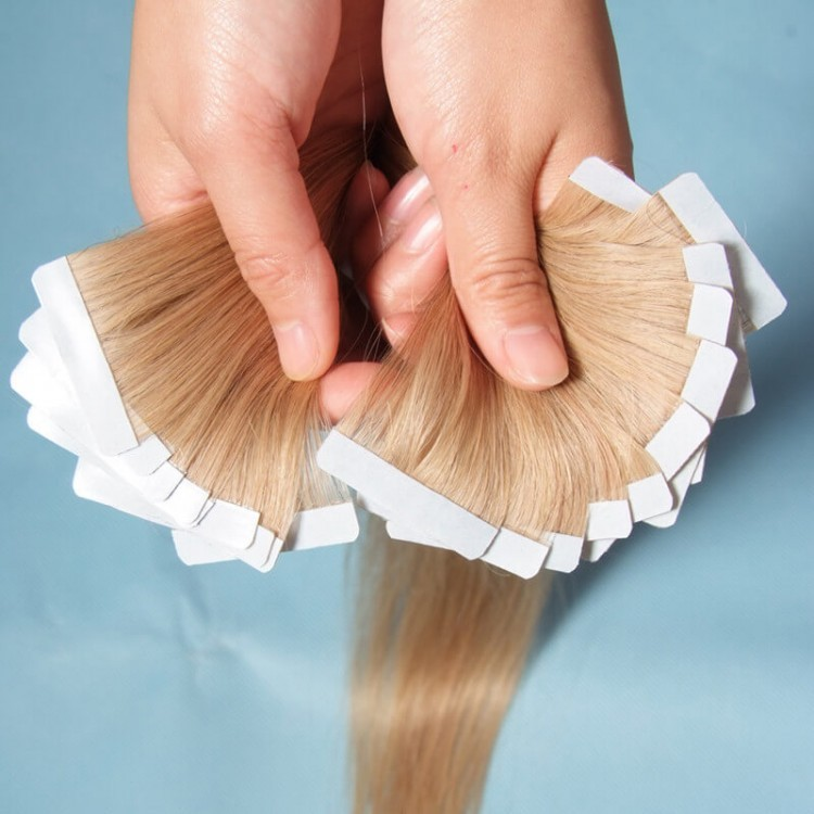Malaysian Straight Hair Tape In Human Hair