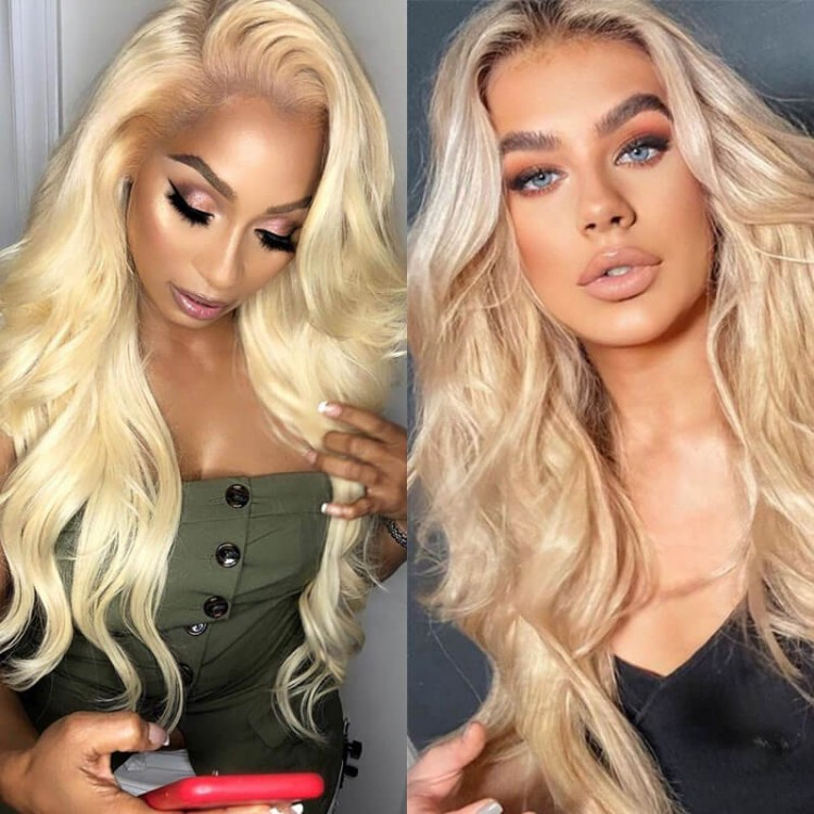 613 body wave t part wig