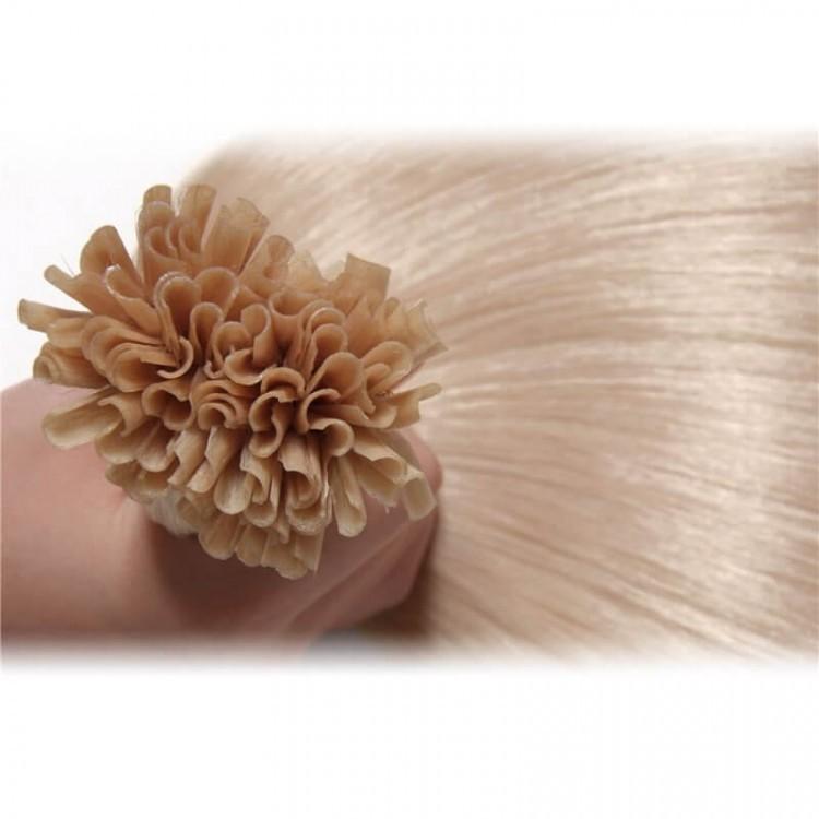 Peruvian Nail Tip Hair Extensions