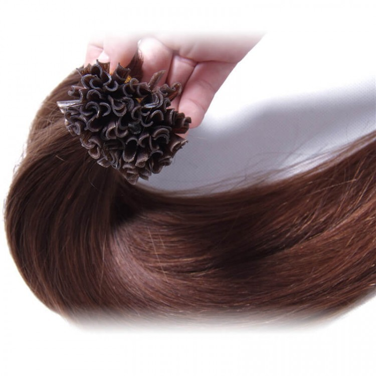 U Tip Malaysian Human Virgin Straight Hair