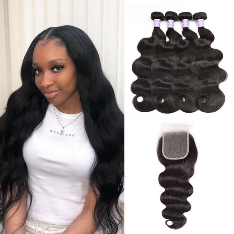 4 Bundles Peruvian Body Wave Hair