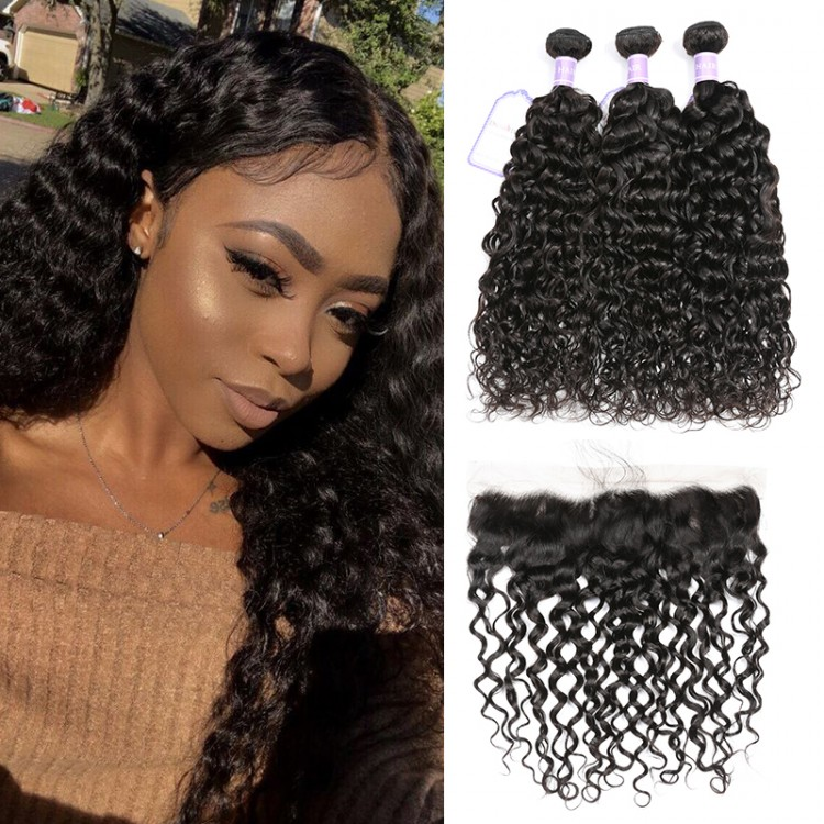 3 Bundles And Lace Frontal