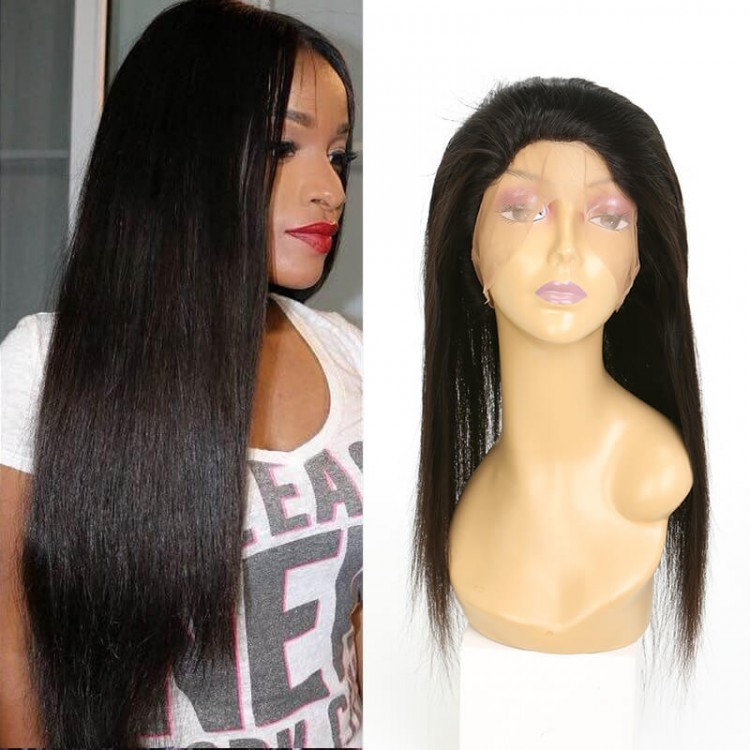 360 Lace Straight Virgin Human Hair