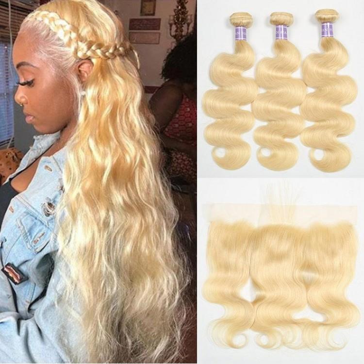 3 Bundles 613 Hair And Frontal
