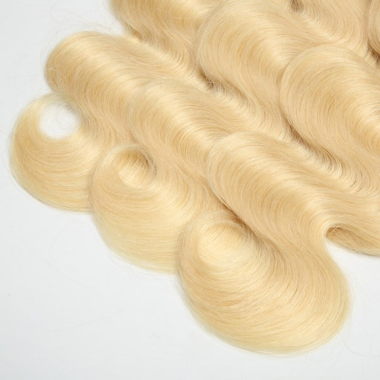 Indian Body Wave 613 Blonde Hair