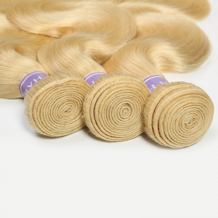 613 blonde Brazilian hair