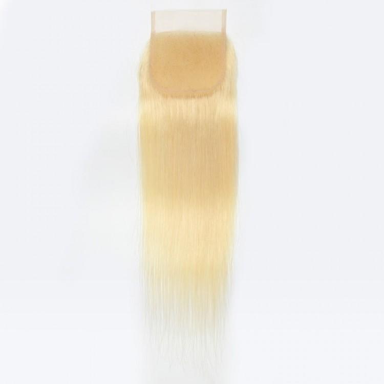 613 blonde lace closure