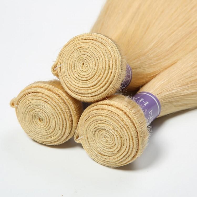 platinum blonde weave