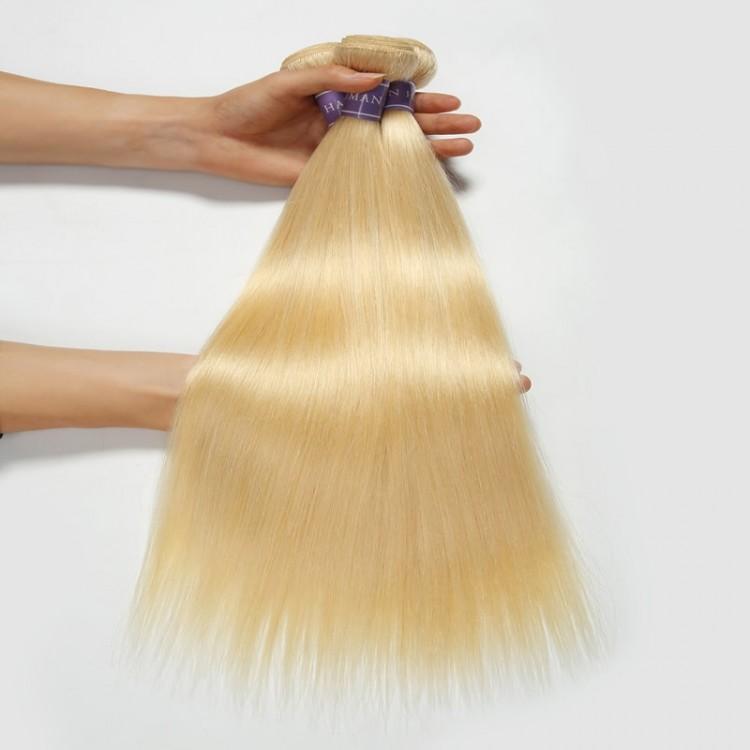 Blonde Human Hair bundles