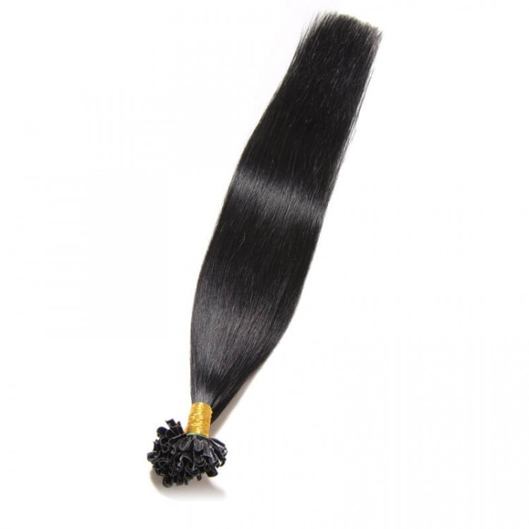 Brazilian U Tip Straight Hair Extension