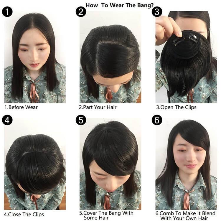 Best hair bangs