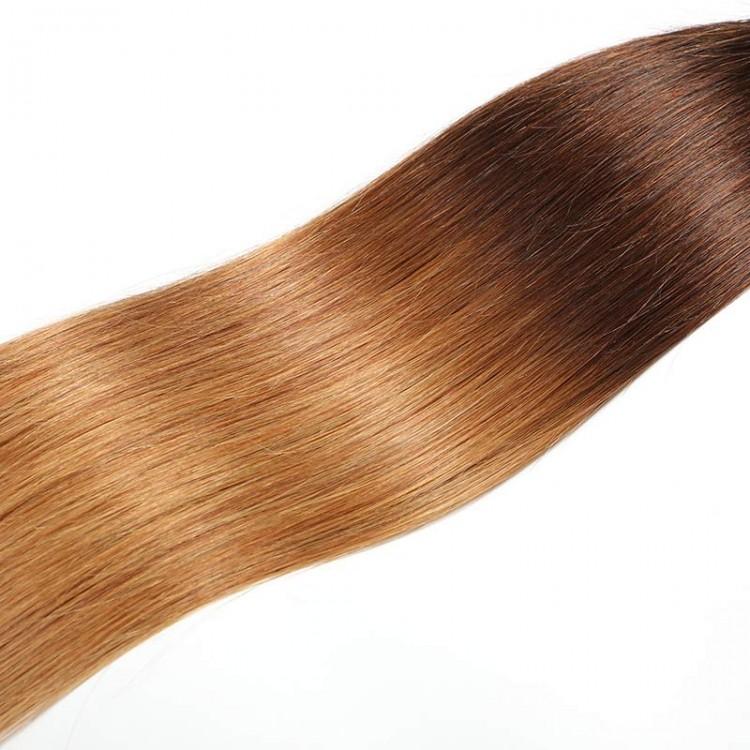 three tone ombre hair