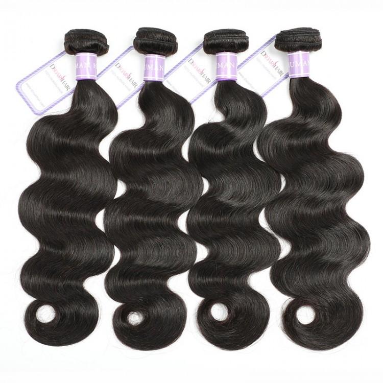4pcs Peruvian Body Wave Hair Bundles