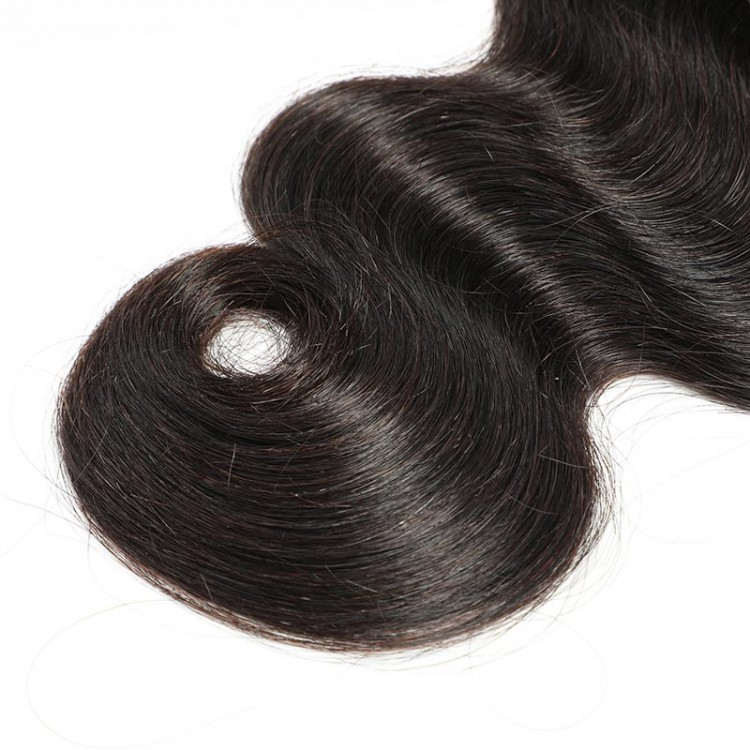 Peruvian body wave hair with closure