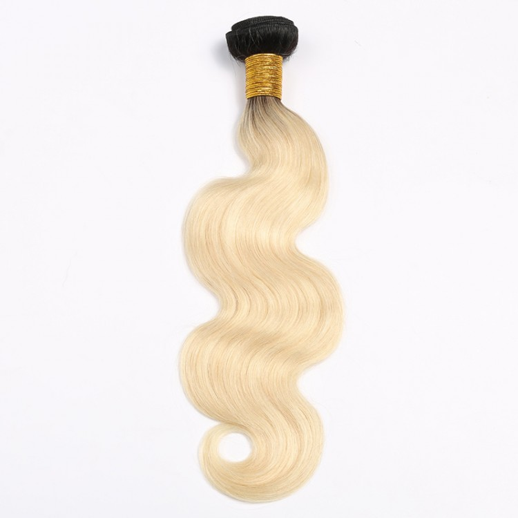 human hair ombre weave