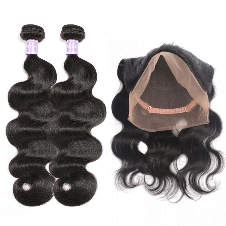 DSoar Hair Malaysian 2 Bundles Body Wave Virgin Human Hair