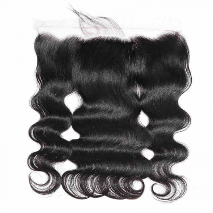 4 bundles free part  lace frontal closure