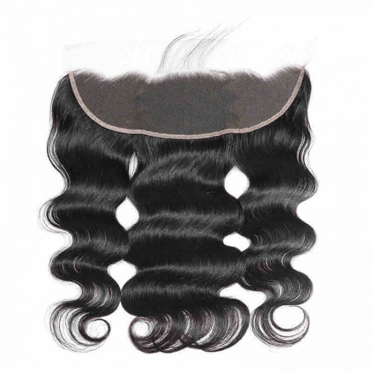 Peruvian body wave lace frontal closure