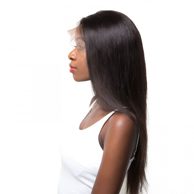 Straight Lace Front Wig With Baby