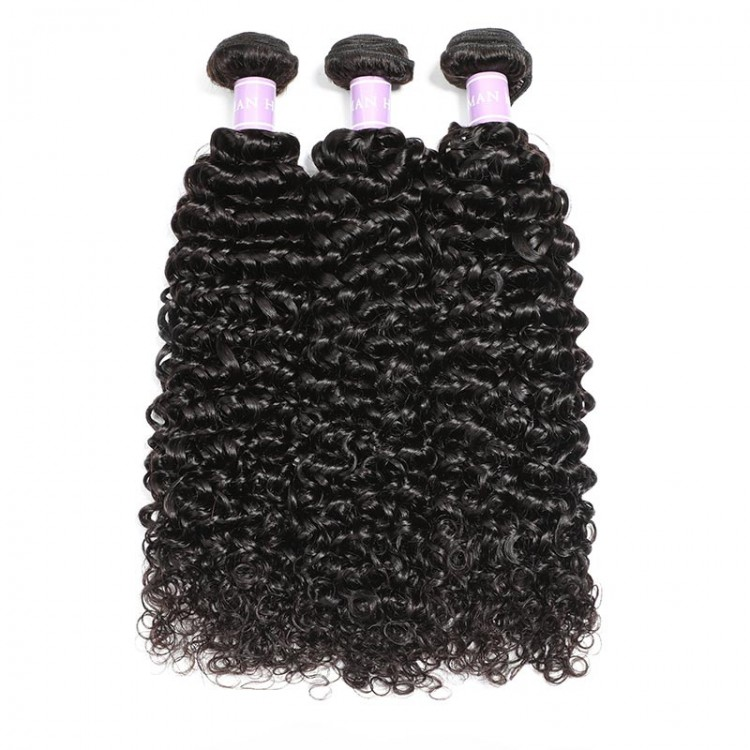 Indian curly hair weave