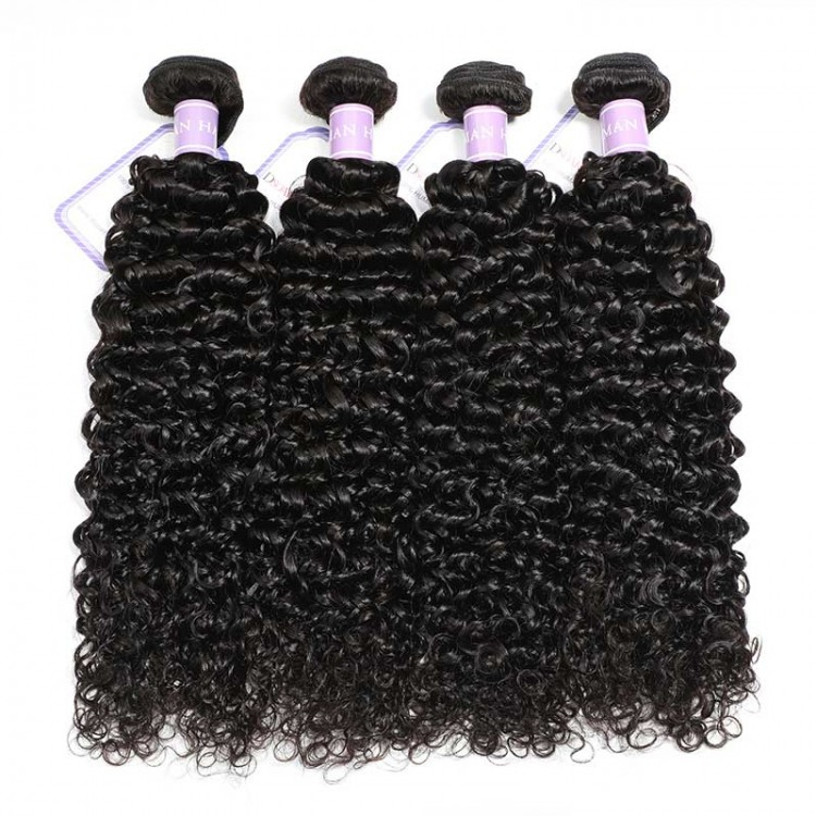 curly bundles with frontal