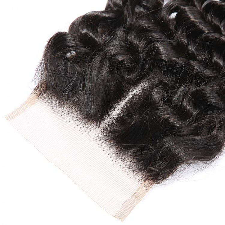 Brazilian deep wave with closure