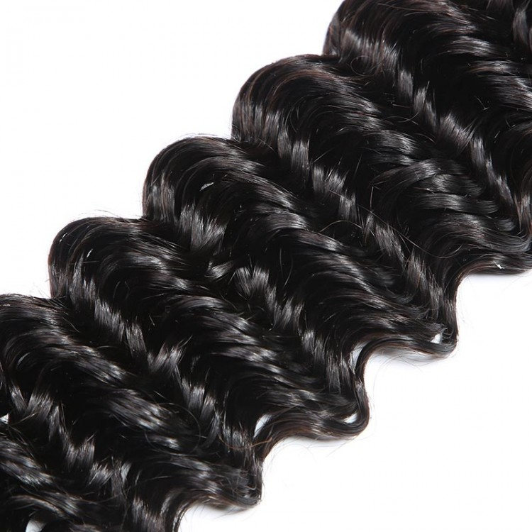 deep wave virgin human hair