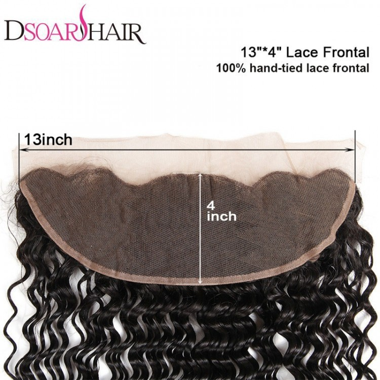 Deep Wave human hair lace frontal