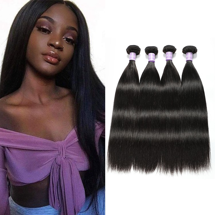 Straight Hair 4 Bundles Unprocessed Virgin Hair