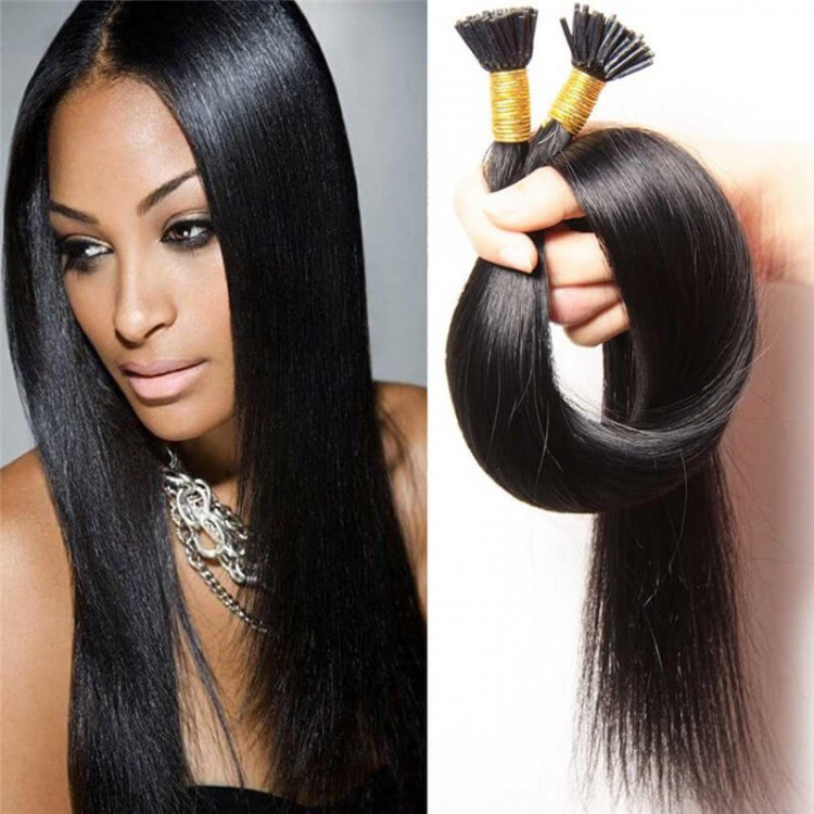 100g Straight I Tip Human Hair Extension