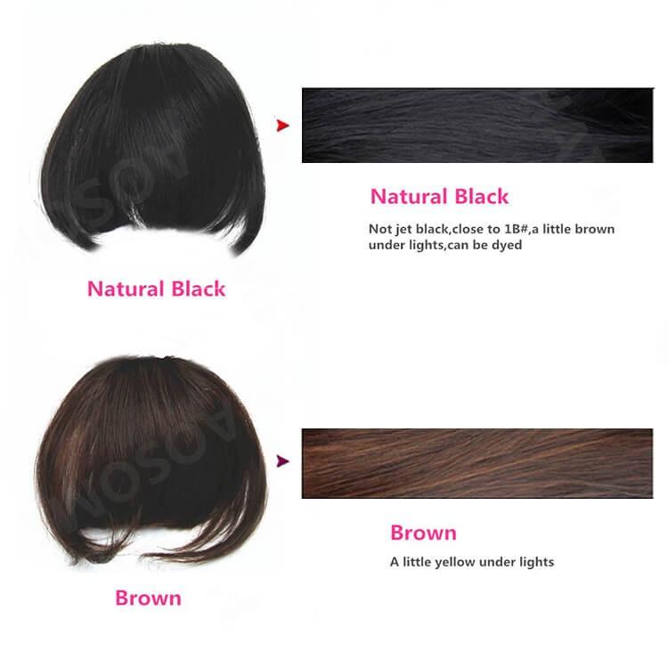 hair bang extensions