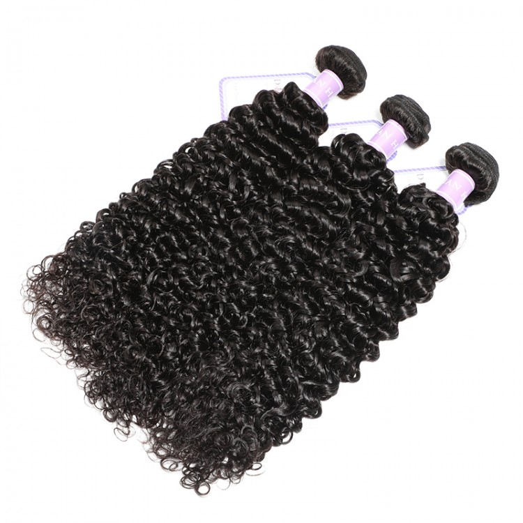 DSoar Indian curly weave human hair
