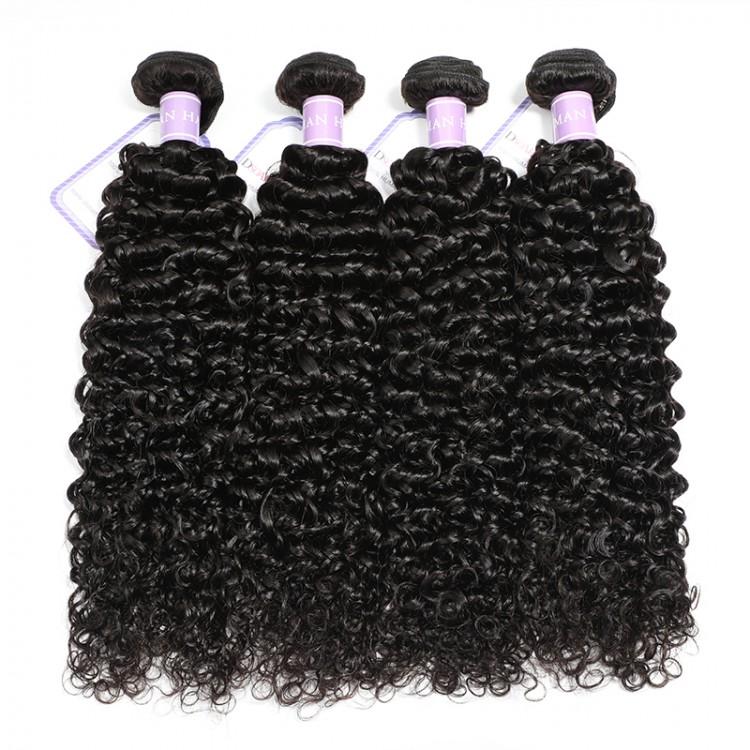 DSoar Hair Brazilian Curly Virgin Hair 4pcs/Pack