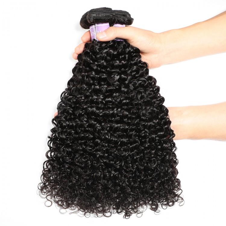 Brazilian Curly Virgin Hair 4pcs