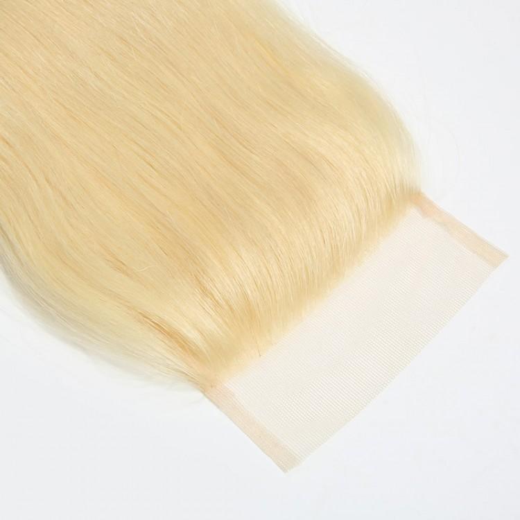 613 Blonde Straight Virgin Human Hair