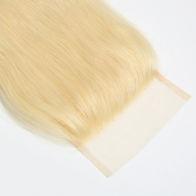 Straight Blonde Lace Closure