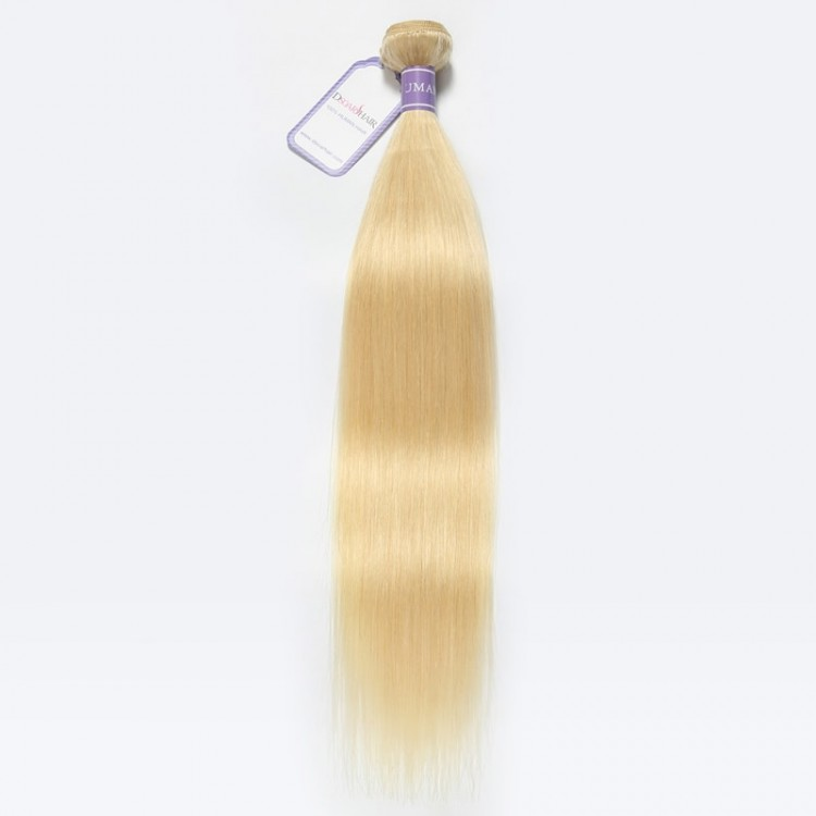 613 blonde weave Remy Hair