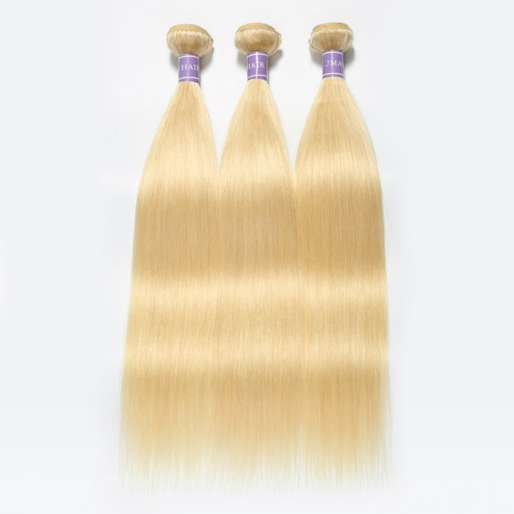 blonde Brazilian hair bundles