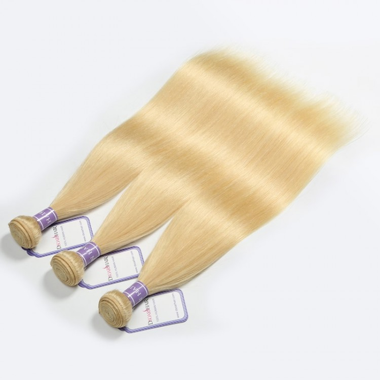Blonde Brazilian Human Hair