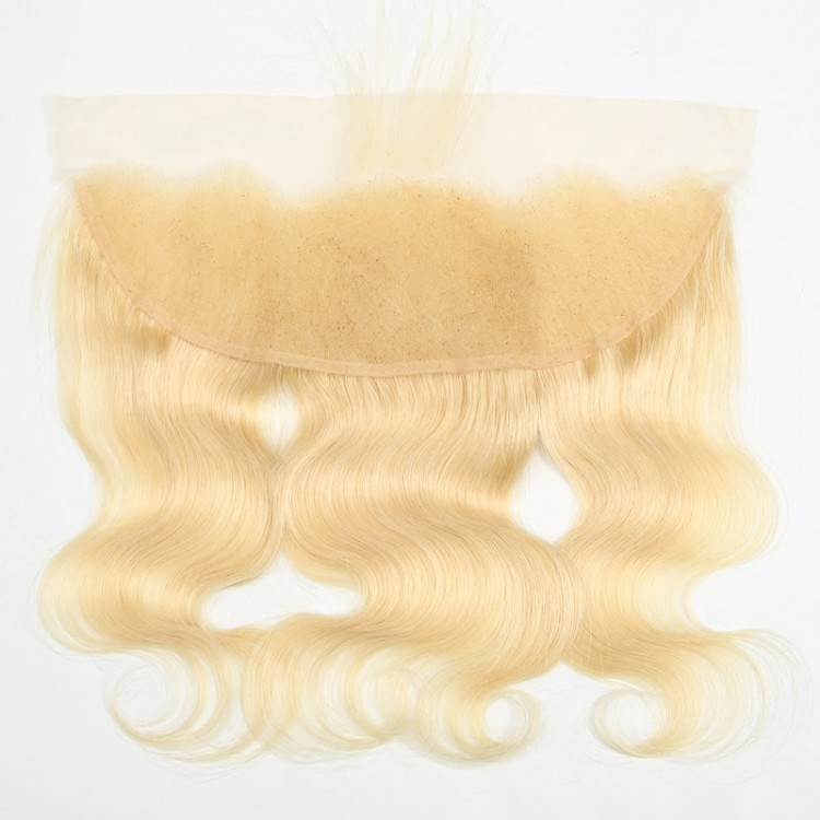 Blonde body wave with frontal