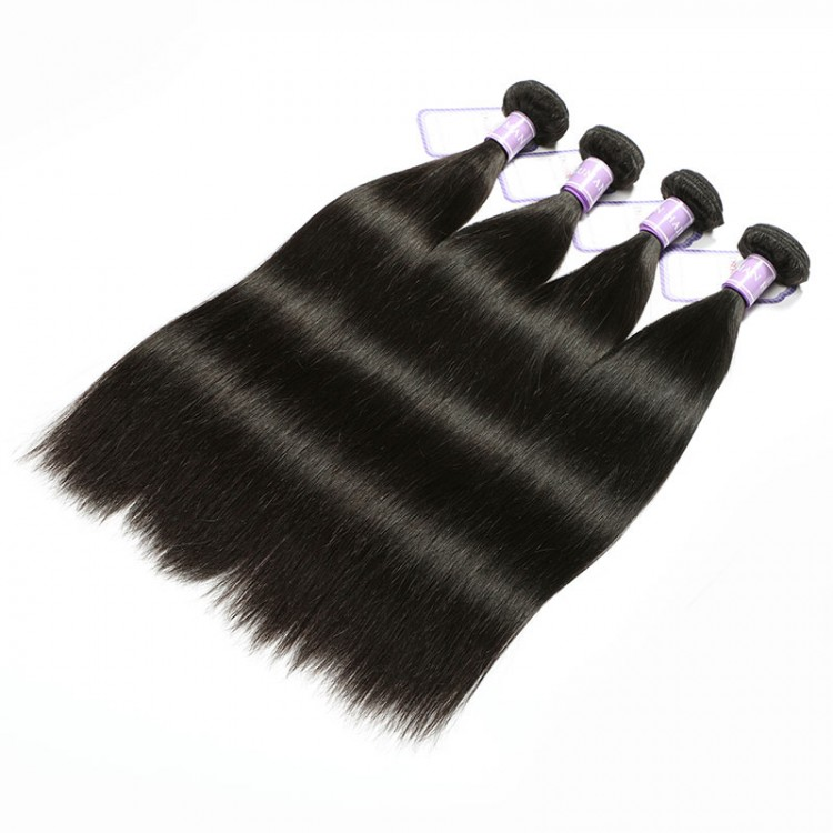 Indian straight remy human hair