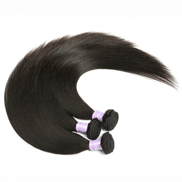 remy human straight hair